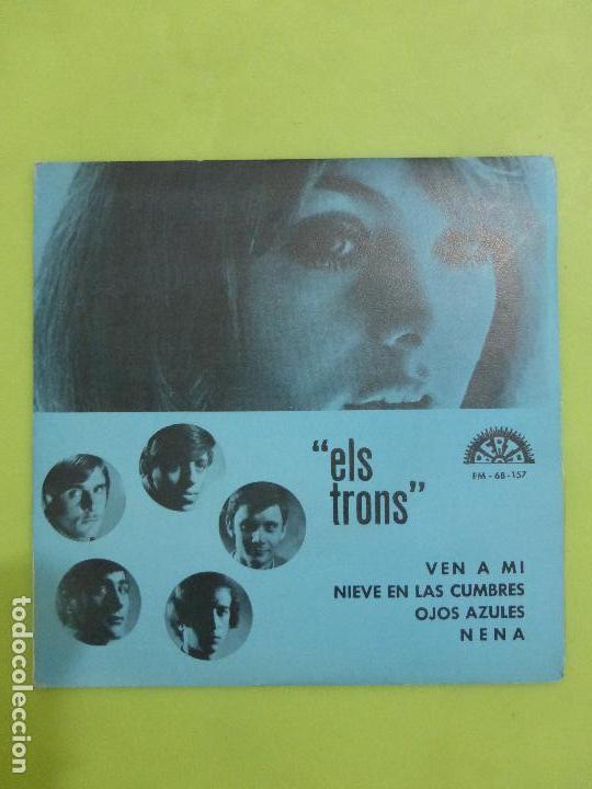 ELS TRONS -VEN A MI/NIEVE EN LAS CUMBRES/OJOS AZULES/NENA - EP BERTA 1970 -ALGO SALVAJE-BUEN ESTADO- (Música - Discos - Singles Vinilo - Grupos Españoles 50 y 60)