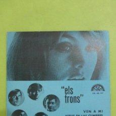 Discos de vinilo: ELS TRONS -VEN A MI/NIEVE EN LAS CUMBRES/OJOS AZULES/NENA - EP BERTA 1970 -ALGO SALVAJE-BUEN ESTADO-. Lote 62658884