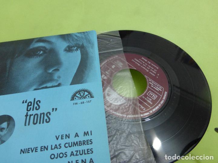 Discos de vinilo: ELS TRONS -ven a mi/nieve en las cumbres/ojos azules/nena - EP BERTA 1970 -ALGO SALVAJE-BUEN ESTADO- - Foto 2 - 62658884