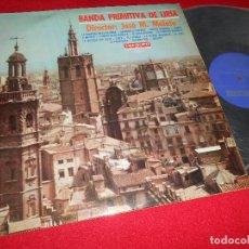 Discos de vinilo: BANDA PRIMITIVA DE LIRIA DIRECTOR JOSE M.MALATO LP 1967 VERGARA. Lote 62671524