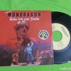 Discos de vinilo: DISCO SINGLE VINILO - ORQUESTA MONDRAGON - SOLO ERA UNA FIESTA - EMI - 1983. Lote 62673828