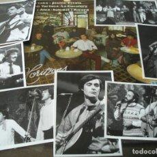 Discos de vinilo: PARTAKA J ESCALA J TORTOSA LA CUCAFERA TET I ALEX SOLEDAT RICARD LP HORITZONS + 7 FOTOS PROMOCIONAL. Lote 62678908