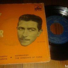 Discos de vinilo: TONY OSBORNE:I WANT TO BE HAPPY/WHILE PARÍS SLEEPS/MARRAKESH/THE WINDOWS OF PARÍS. EP. (MUY RARO). Lote 62681146