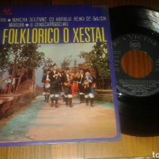 Discos de vinilo: GRUPO FOLKLORICO O XESTAL:JOTA DE NEGREIRA+3. (EP.1968) RARO. Lote 62681468