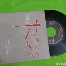 Discos de vinilo: DISCO SINGLE VINILO - DIANA ROSS - TOUCH BY TOUCH - EMI - 1984. Lote 62684868