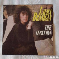 Discos de vinilo: LAURA BRANIGAN, THE LUCKY ONE (WEA 1983) SINGLE PROMOCIONAL ESPAÑA. Lote 62701216