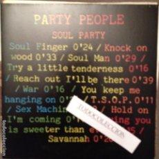 Discos de vinilo: PARTY PEOPLE- SOUL PARTY SOUL MAN, WAR, SEX MACHINE, SAVANNAH... 1988. Lote 62670096