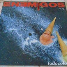 Discos de vinilo: LOS ENEMIGOS - LA VIDA MATA - PORTADA GATEFOLD - LP 1990. Lote 62714168