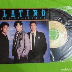 Discos de vinilo: DISCO SINGLE VINILO - PLATINO - FUERA DE LA LEY - EMI - 1985. Lote 62722520