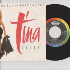 Discos de vinilo: TINA TURNER - CAPITOL RECORDS 006-2016127 / 1986. Lote 62730132