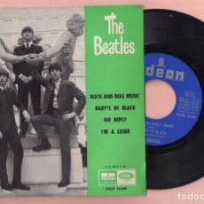 Discos de vinilo: DISCO VINILO THE BEATLES CANCIÓN ROCK AND ROLL MUSIC DE ODEON AÑO 1964 . Lote 62730832