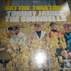 Discos de vinilo: TOMMY JAMES AND THE SHONDELLS - GETTIN TOGETHER LP- ORIGINAL U.S.A. - ROULETTE RECORDS 1967 - STEREO. Lote 62736432