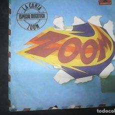 Discos de vinilo: ZOOMLA CARTA. Lote 62741852