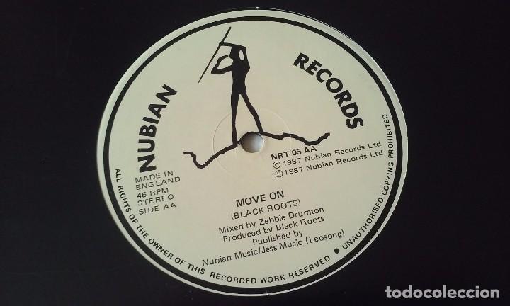 BLACK ROOTS - LET IT BE ME / MOVE ON - 1987 (Música - Discos de Vinilo - Maxi Singles - Reggae - Ska)