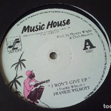 Discos de vinilo: FRANKIE WILMOTT - I WON'T GIVE UP - 2010. Lote 62748228