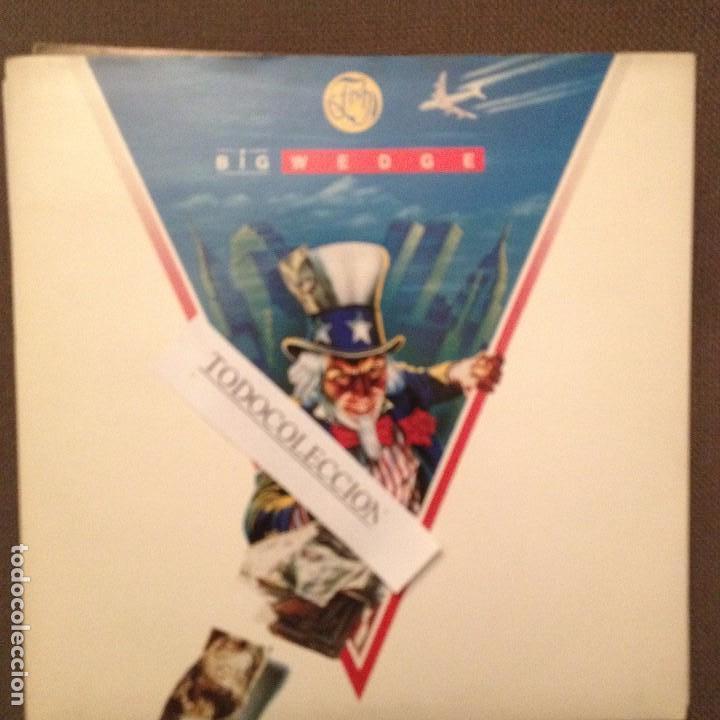 FISH: BIG WEDGE / JACK AND JILL - SG EMI UK 1989 - MARILLION (Música - Discos de Vinilo - EPs - Heavy - Metal)