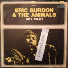 Discos de vinilo: ERIC BURDON AND THE ANIMALS: SKY PILOT ED. FRANCIA BARCLAY. Lote 62751820