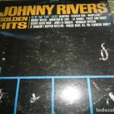 Discos de vinilo: JOHNNY RIVERS - GOLDEN HITS LP - ORIGINAL U.S.A - IMPERIAL RECORDS 1966 - STEREO -. Lote 62752640