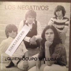 Discos de vinilo: LOS NEGATIVOS QUIEN OCUPO MI LUGAR , SUEÑOS PDI 1988 PROMO. Lote 62752964
