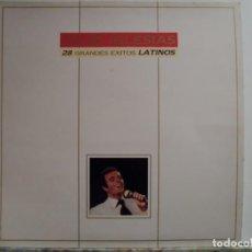 Discos de vinilo: *** JULIO IGLESIAS - 28 GRANDES ÉXITOS LATINOS - DOBLE LP 1989 (DOBLE PORTADA) - LEER DESCRIPCIÓN. Lote 62758420