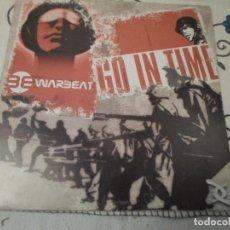 Discos de vinilo: WARBEAT - GO IN TIME. Lote 62798404