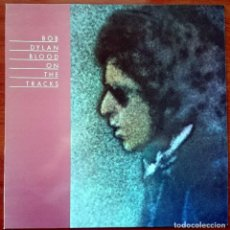 Disques de vinyle: BOB DYLAN: BLOOD ON THE TRACKS, LP PROMO CBS 32388, SPAIN, RE 1989. M/NM. UNPLAYED.. Lote 62817428