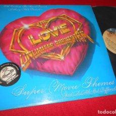 Discos de vinilo: THE LOVE UNLIMITED ORCHESTRA SUPER MOVIE THEMES (JUST A LITTLE BIT DIFFERENT) LP 1979 SPAIN ESPAÑA. Lote 62843968