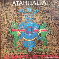 Discos de vinilo: ATAHUALPA - AMULETOS . MAXI SINGLE . 1991 BOY RECORDS. Lote 62869648