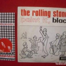 Dischi in vinile: THE ROLLING STONES – PAINT IT, BLACK - SG DECCA ESPAÑOL. 1966.. Lote 62870300