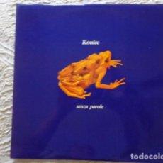 Discos de vinilo: KONIEC - SENZA PAROLE - X. MARISTANY - J. PALOMAS - O. PERUCHO - J. SAURA - NUEVO. Lote 62881092