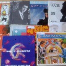 Vinyl records - LOTE DE 10 SINGLES DE POP-ROCK BRITANICO AÑOS 80 EN MUY BUEN ESTADO - 62902944