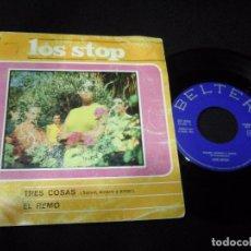 Discos de vinilo: MUSICA SINGLE BELTER LOS STOP TRES COSAS + EL REMO 1967 OJ.E. Lote 62904976