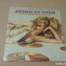 Discos de vinilo: HENRY JEROME - PRESENTS AMERICAN GOLD (2LP 1970, UNITED ARTISTS RECORDS UXS 71 ). Lote 62908020