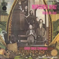 Discos de vinilo: GOOSE CREEK SYMPHONY SPANISH SINGLE 45 MERCEDES BENZ RURAL PSYCH SPAIN 1972. Lote 62910360