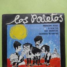 Discos de vinilo: LOS PALETOS - EP BERTA 1969 - PRÍNCIPE AZUL/ SIENTO/ NO MIENTAS/ CUANDO TE VAYAS. MUY RARO Y DIFÍCIL. Lote 62946192