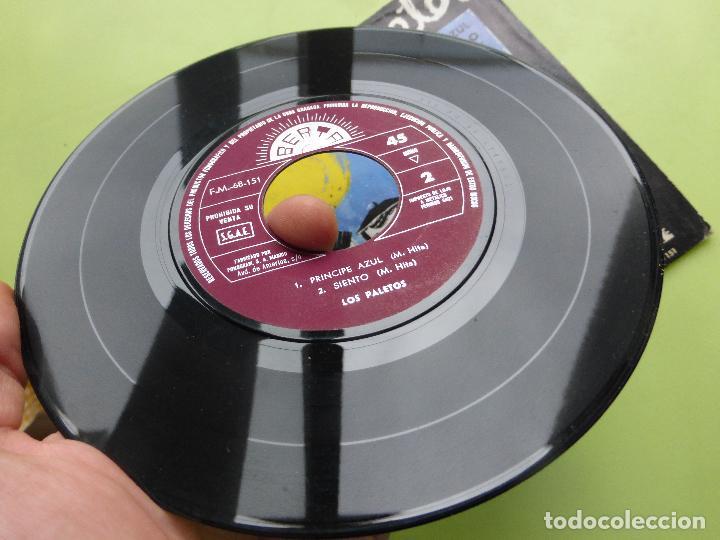 Discos de vinilo: LOS PALETOS - EP BERTA 1969 - Príncipe azul/ siento/ no mientas/cuando te vayas - MUY RARO Y DIFÍCIL - Foto 2 - 62946192