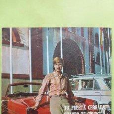 Discos de vinilo: FRANCISCO. TU PUERTA CERRADA/ CUANDO TE CONOCÍ/ EL GATO/ CUANDO TE QUIERO. EP 1969 - BUEN ESTADO. Lote 62949164
