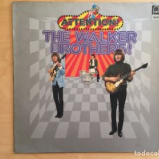 Discos de vinilo: THE WALKER BROTHERS! : ATTENTION!. Lote 62951119
