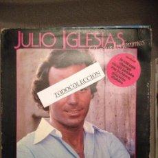 Discos de vinilo: JULIO IGLESIAS: A VOUS LES FEMMES: CANTADO EN FRANCES PORTADA ABIERTA CBS 1979 ED. HOLANDA . Lote 62969992