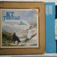 Discos de vinilo: KT TUNSTALL - '' UNDER THE WEATHER '' SINGLE '' + INNER EU 2005. Lote 62972348