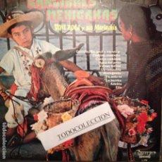 Discos de vinilo: TONI ROCA Y SUS MARIACHIS CANCIONES MEXICANAS IMPACTO DEDICADO POR TONI ROCA, ADELITA, VOLVER VOLVER. Lote 62989600