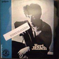 Discos de vinilo: BERT JANSCH - BERT JANSCH-ROSEMARY LANE (DOBLE LP GUIMBARDA 1979 CON LIBRETO). Lote 62990664