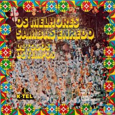 Discos de vinilo: OS MELHORES SAMBAS ENREDO DE TODOS OS TEMPOS. Lote 62998788