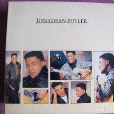 Discos de vinilo: LP - JONATHAN BUTLER - SAME (PORTUGAL, DOBLE DISCO, JIVE RECORDS 1987). Lote 63005004