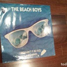 Discos de vinilo: THE BEACH BOYS-WOULDN'T IT BE NICE,I GET AROUND,BEACH BOYS MEDLEY.MAXI UK. Lote 63023352