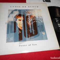 Discos de vinilo: CHRIS DE BURGH POWER OF TEN LP 1992 A&M EDICION ESPAÑOLA SPAIN. Lote 63030216