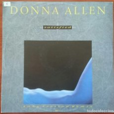 Discos de vinilo: DONNA ALLEN: SATISFIED, MAXISINGLE PORTRAIT XXX T1, UK, 1987. NM/EX. Lote 63082992