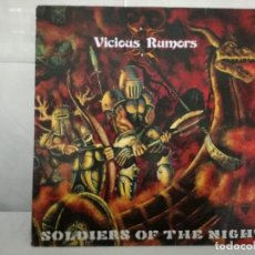 Discos de vinilo: VICIOUS RUMORS - SOLDIERS OF THE NIGHT LP RR 9734 NETHERLANDS 1985. Lote 63092428