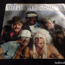Disques de vinyle: VILLAGE PEOPLE ( IN THE NAVY - MANHATTAN WOMAN ) 1979-SWEDEN SINGLE45 ARRIVAL RECORDS. Lote 63116424