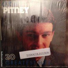 Discos de vinilo: GENE PITNEY : 20 GREATEST HITS ED. HOLANDA ROLLING STONES, BACHARACH. Lote 63111904